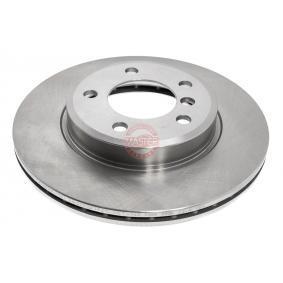 Bremsscheibe Bremsscheibendicke: 22,0mm, Lochanzahl: 5, Ø: 300,0mm mit OEM-Nummer 34 11 6 855 152