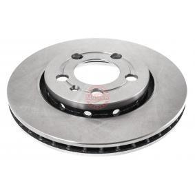 Bremsscheibe Bremsscheibendicke: 22,0mm, Lochanzahl: 5, Ø: 256,0mm, Ø: 256mm mit OEM-Nummer 8L0615601