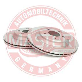 Bremsscheibe Bremsscheibendicke: 22,0mm, Lochanzahl: 5, Ø: 300,0mm mit OEM-Nummer A 220 423 0212