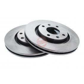 Bremsscheibe Bremsscheibendicke: 22,0mm, Lochanzahl: 4, Ø: 266,0mm mit OEM-Nummer 4246 W7