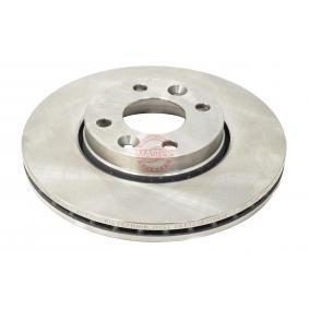 Bremsscheibe Bremsscheibendicke: 22,0mm, Lochanzahl: 4, Ø: 260,0mm mit OEM-Nummer 40206-AX600-