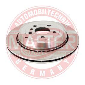 Спирачен диск дебелина на спирачния диск: 22мм, брой на дупките: 5, Ø: 330мм с ОЕМ-номер 1644231112