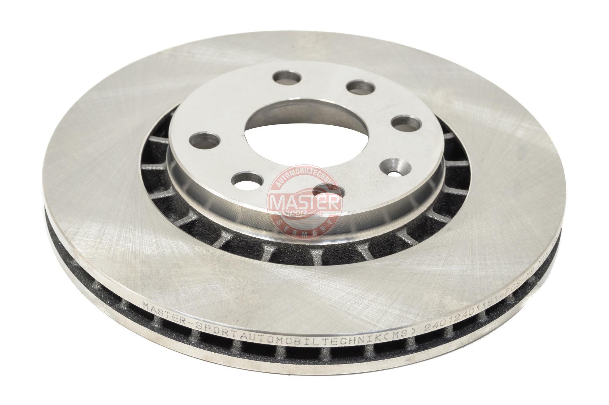 Bremsscheiben 24012401151-PCS-MS MASTER-SPORT 212401150 in Original Qualität