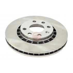 Bremsscheibe Bremsscheibendicke: 24,0mm, Lochanzahl: 4, Ø: 256,0mm, Ø: 256mm mit OEM-Nummer 9048 7402