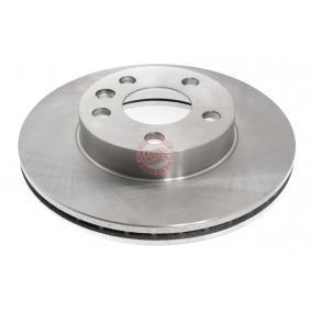 Bremsscheibe Bremsscheibendicke: 24,0mm, Lochanzahl: 5, Ø: 280,0mm mit OEM-Nummer 7D0.615.301A