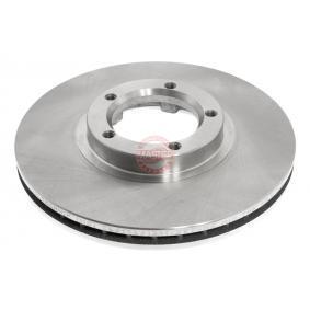 Bremsscheibe Bremsscheibendicke: 24,2mm, Lochanzahl: 5, Ø: 254,0mm mit OEM-Nummer 5029 815
