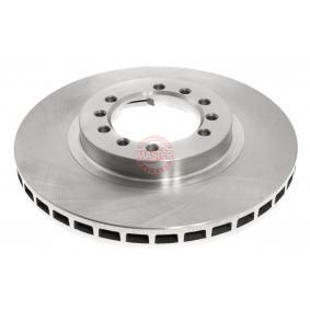 Brake Disc Brake Disc Thickness: 24,0mm, Num. of holes: 6, Ø: 276mm with OEM Number MB 928697
