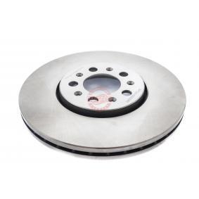 Bremsscheibe Bremsscheibendicke: 25,0mm, Lochanzahl: 5, Ø: 288,0mm, Ø: 288mm mit OEM-Nummer 1J0 615 301K