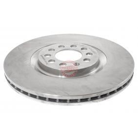 Bremsscheibe Bremsscheibendicke: 25,0mm, Lochanzahl: 5, Ø: 310,0mm mit OEM-Nummer 8N0 615 301 A