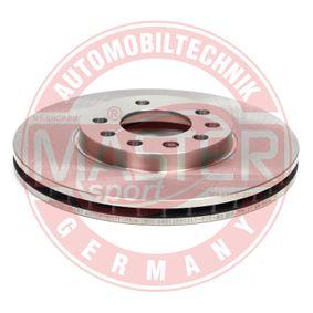 Bremsscheibe Bremsscheibendicke: 24,8mm, Lochanzahl: 5, Ø: 280,0mm mit OEM-Nummer 91 17 678