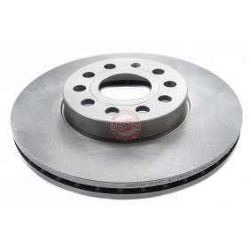 Bremsscheibe Bremsscheibendicke: 25,0mm, Lochanzahl: 5, Ø: 288,0mm, Ø: 288mm mit OEM-Nummer 1K0 615 301K