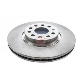 Bremsscheibe Bremsscheibendicke: 25,0mm, Lochanzahl: 5, Ø: 312,0mm, Ø: 312mm mit OEM-Nummer 1K0.615.301AA
