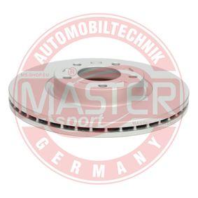Brake Disc Brake Disc Thickness: 25,0mm, Num. of holes: 5, Ø: 300mm with OEM Number C26Y 33 25XB