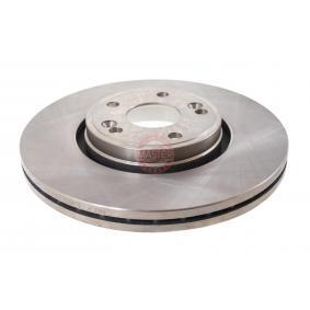 Bremsscheibe Bremsscheibendicke: 26,0mm, Lochanzahl: 5, Ø: 300,0mm mit OEM-Nummer 7701 206 614