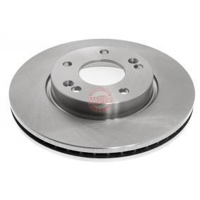 Brake Disc Brake Disc Thickness: 26,0mm, Num. of holes: 5, Ø: 280mm with OEM Number 517 123 K010