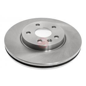 Bremsscheibe Bremsscheibendicke: 26,0mm, Lochanzahl: 5, Ø: 276,0mm mit OEM-Nummer 5.69.073
