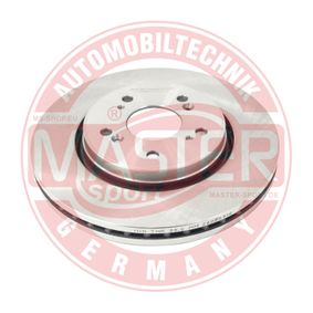 Brake Disc Brake Disc Thickness: 28,0mm, Num. of holes: 5, Ø: 293mm with OEM Number 45251 SWW G01