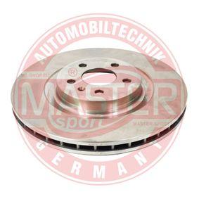 Brake Disc Brake Disc Thickness: 29,5mm, Num. of holes: 5, Ø: 345mm with OEM Number 8K0615301Q