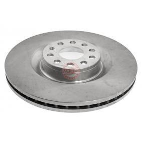Спирачен диск дебелина на спирачния диск: 30,0мм, брой на дупките: 5, Ø: 345,0мм с ОЕМ-номер 1K0615301AB