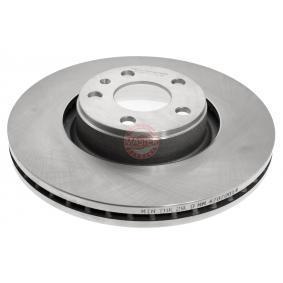 Bremsscheibe Bremsscheibendicke: 30,0mm, Lochanzahl: 5, Ø: 321,0mm mit OEM-Nummer 4F0.615.301E