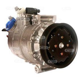 Compresor, aire acondicionado Polea Ø: 110,00mm con OEM número 8E0260805AH