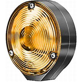 Figyelmeztető lámpa Ház színe: fekete 2XD003022061