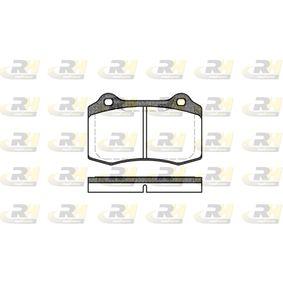 Bremsbelagsatz, Scheibenbremse Höhe: 69,3mm, Dicke/Stärke: 14,8mm mit OEM-Nummer C2C24016