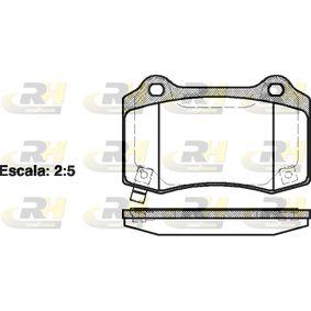 Bremsbelagsatz, Scheibenbremse Höhe: 69,3mm, Dicke/Stärke: 15,4mm mit OEM-Nummer 68003 610AA