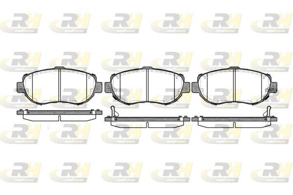 ROADHOUSE  2456.02 Bremsbelagsatz, Scheibenbremse Höhe: 63,8mm, Dicke/Stärke: 17mm
