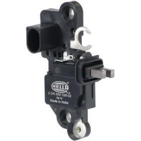 HELLA Generatorregler 5DR 009 728-021 für AUDI A4 (8E2, B6) 1.9 TDI ab Baujahr 11.2000, 130 PS