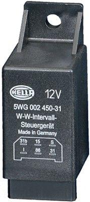Relais, Wisch-Wasch-Intervall 5WG 002 450-311 HELLA 5WG 002 450-311 in Original Qualität