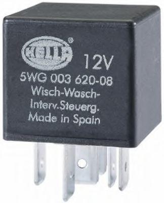 Relais, Wisch-Wasch-Intervall 5WG 003 620-087 HELLA 5WG 003 620-087 in Original Qualität