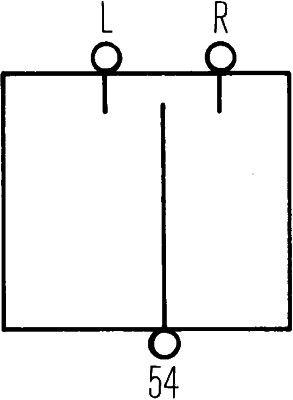 Control Stalk, indicators HELLA 6BG001545-001 expert knowledge