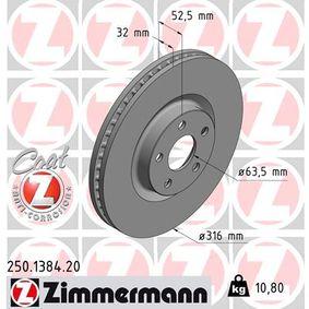 Bremsscheibe Ø: 316mm mit OEM-Nummer 5 312 312