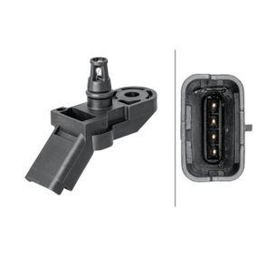 HELLA Sensor, Saugrohrdruck 6PP 009 400-301 für PEUGEOT 307 SW (3H) 2.0 16V ab Baujahr 03.2005, 140 PS