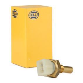 HELLA Kühlmitteltemperatur-Sensor 6PT 009 107-561 für AUDI 80 (8C, B4) 2.8 quattro ab Baujahr 09.1991, 174 PS