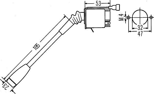 Steering Column Switch HELLA 6TA 003 394-001 rating