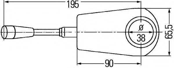 Steering Column Switch HELLA 6TA 008 520-027 rating