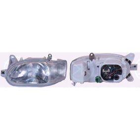 Hauptscheinwerfer für Fahrzeuge ohne Leuchtweiteregelung, für Fahrzeuge mit Leuchtweiteregelung mit OEM-Nummer 1076554