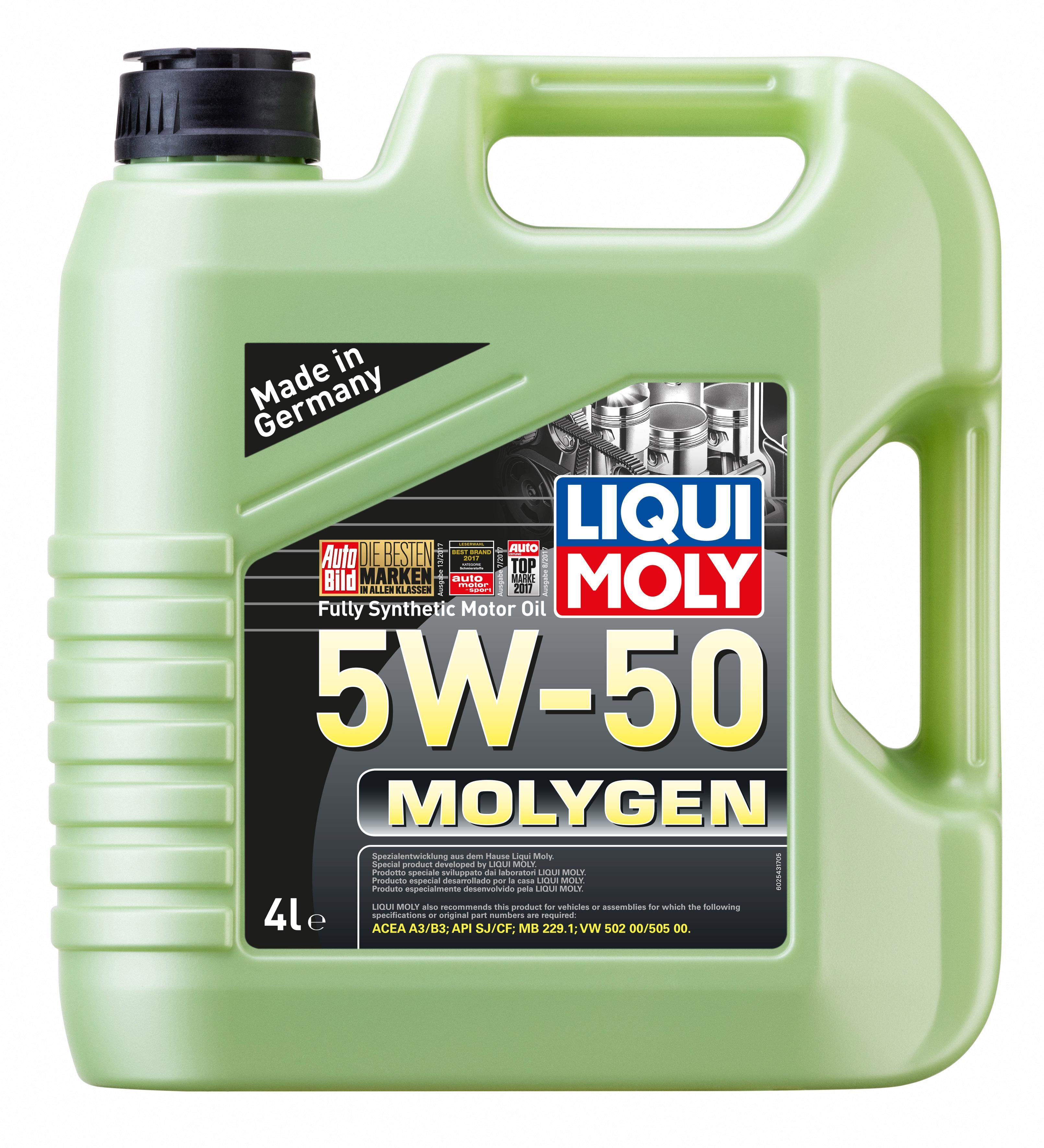 motor ol LIQUI MOLY MB2291 4100420025433