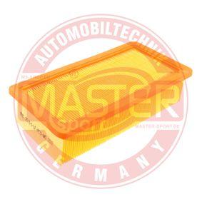 MASTER-SPORT  2571/1-LF-PCS-MS Luftfilter Länge: 245mm, Breite: 131mm, Höhe: 58mm