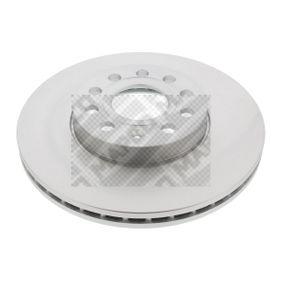 Bremsscheibe Bremsscheibendicke: 25mm, Lochanzahl: 5, Ø: 288mm mit OEM-Nummer 5C0 615 301 D