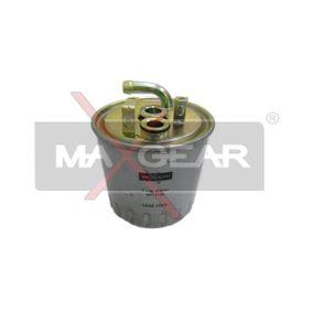 Kraftstofffilter Höhe: 128mm mit OEM-Nummer A 611 092 02 01