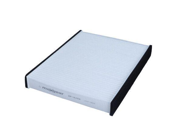 MAXGEAR  26-0252 Filter, Innenraumluft Länge: 242mm, Breite: 186mm, Höhe: 33,5mm