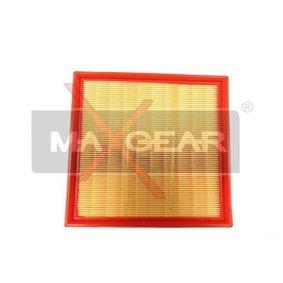 Luftfilter Länge: 224mm, Breite: 240mm, Höhe: 58mm mit OEM-Nummer 6 172 024