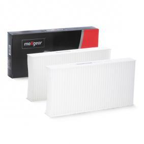 Filter, interior air Length: 225mm, Height: 29mm with OEM Number 80292 SCA E11