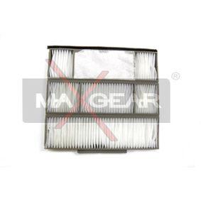 Filter, Innenraumluft Länge: 330mm, Breite: 168mm, Höhe: 78mm mit OEM-Nummer 6441EJ