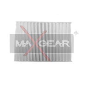 Filter, Innenraumluft Länge: 254mm, Breite: 201mm, Höhe: 30mm mit OEM-Nummer 6447-FF