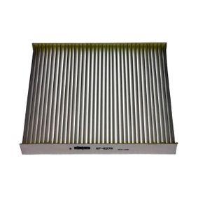 Filter, Innenraumluft Länge: 197mm, Breite: 216mm, Höhe: 25mm mit OEM-Nummer GS1D61P11