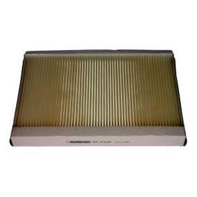 Filter, Innenraumluft Länge: 352mm, Breite: 234mm, Höhe: 35mm mit OEM-Nummer A 9068300318